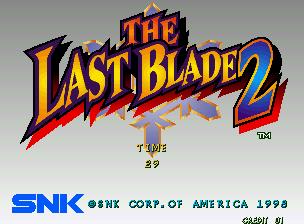 The Last Blade 2 / Dai Ni Maku Gekken